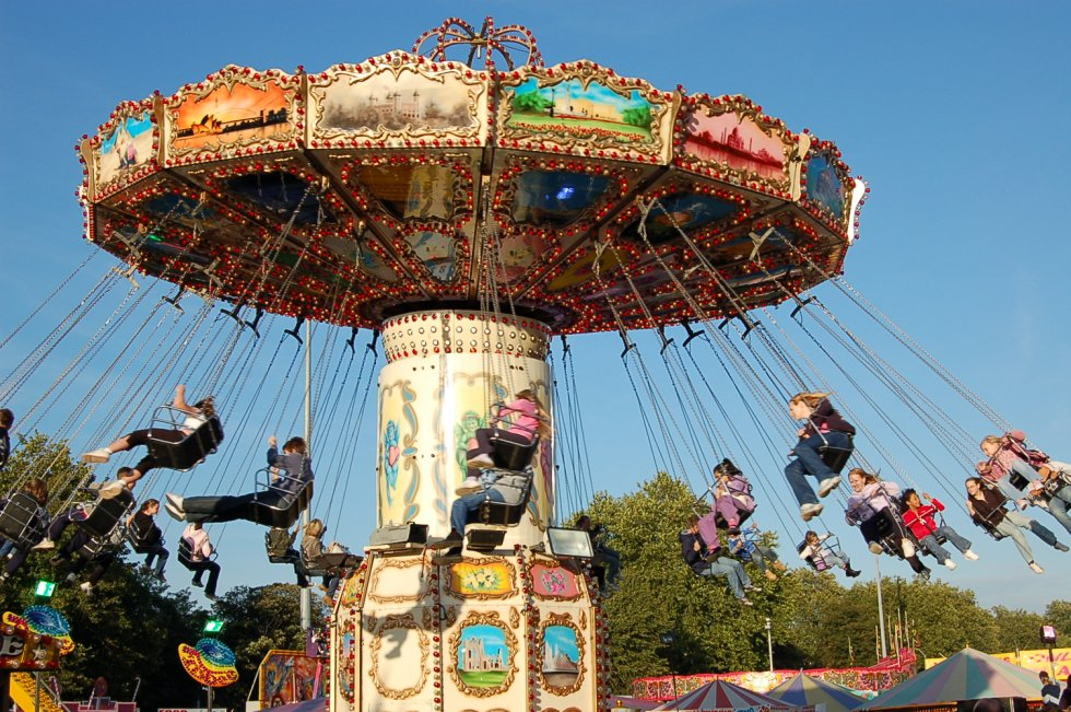 Wave Swinger Fairground Ride Hire And Corporate Funfairs