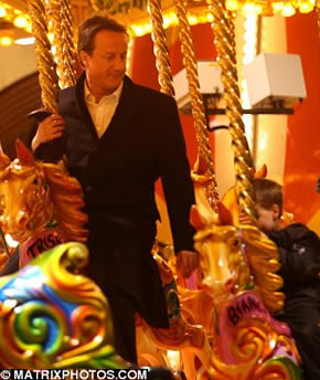 David Cameron at Hyde Park