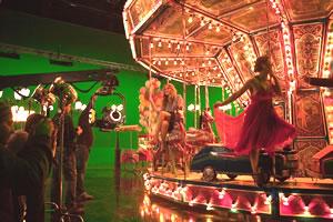 Funfair Filming