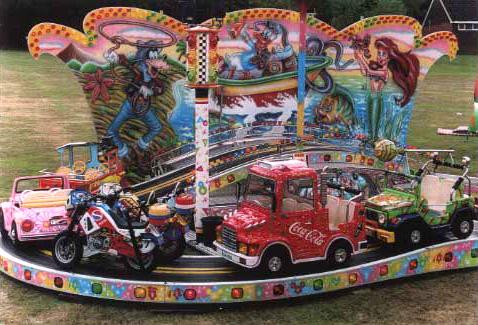 Formula Track Ride Image