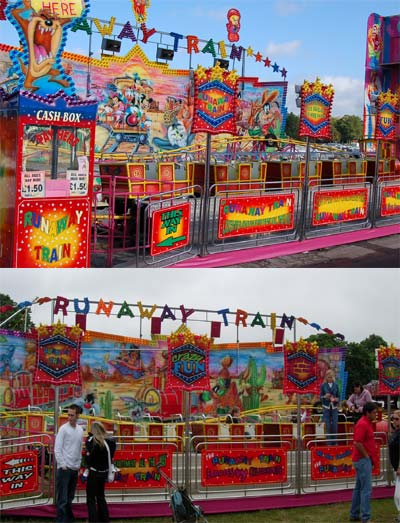 Runaway Train Image
