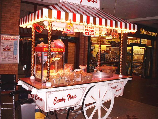 Food Cart Fairground Ride Hire And Corporate Funfairs