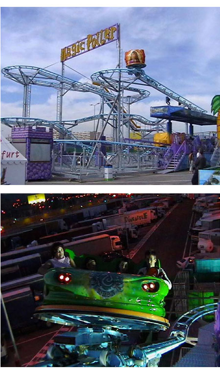 Wild Mouse Roller Coaster Image