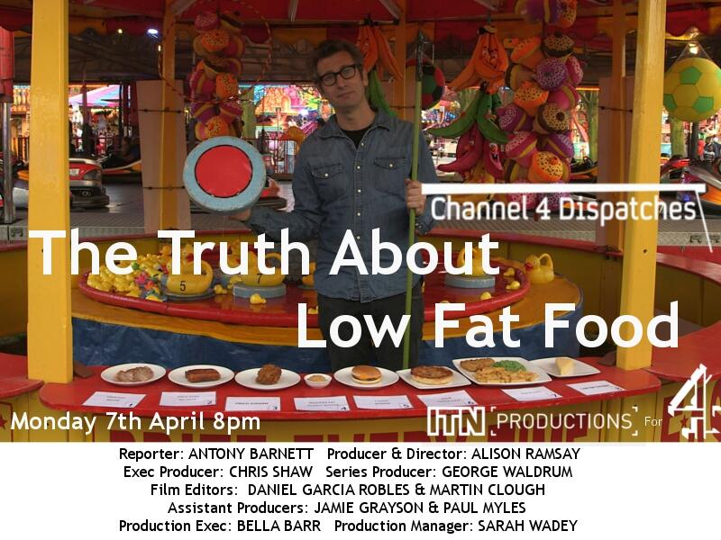 The Truth About Low Fat Food TX Card